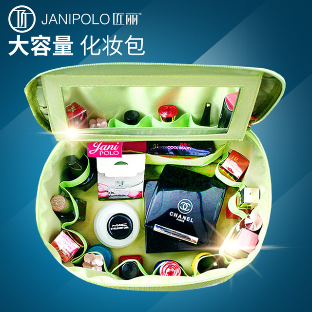 Caja de cosméticos bolsa de almacenamiento en bolsas de Viaje esteticista femenina bolso organizador compone el bolso de gran capacidad profesional envios gratis