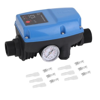 SKD-5 Electronic Water Pump Pressure Control Professional Automatic Pressure Control Switch With Pressure Gauge цена 2017