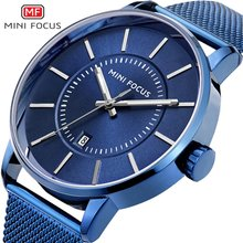montreオム時計レロジオmasculino ミニフォーカス男性鋼クォーツ時計2018トップファッションブランドの高級メンズ腕時計hodinky