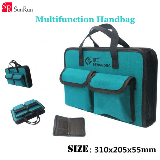 Oxford Canvas Chisel Roll Rolling Repairing Tool Utility Bag Size Multifunctional Handbag Brand New Wearable