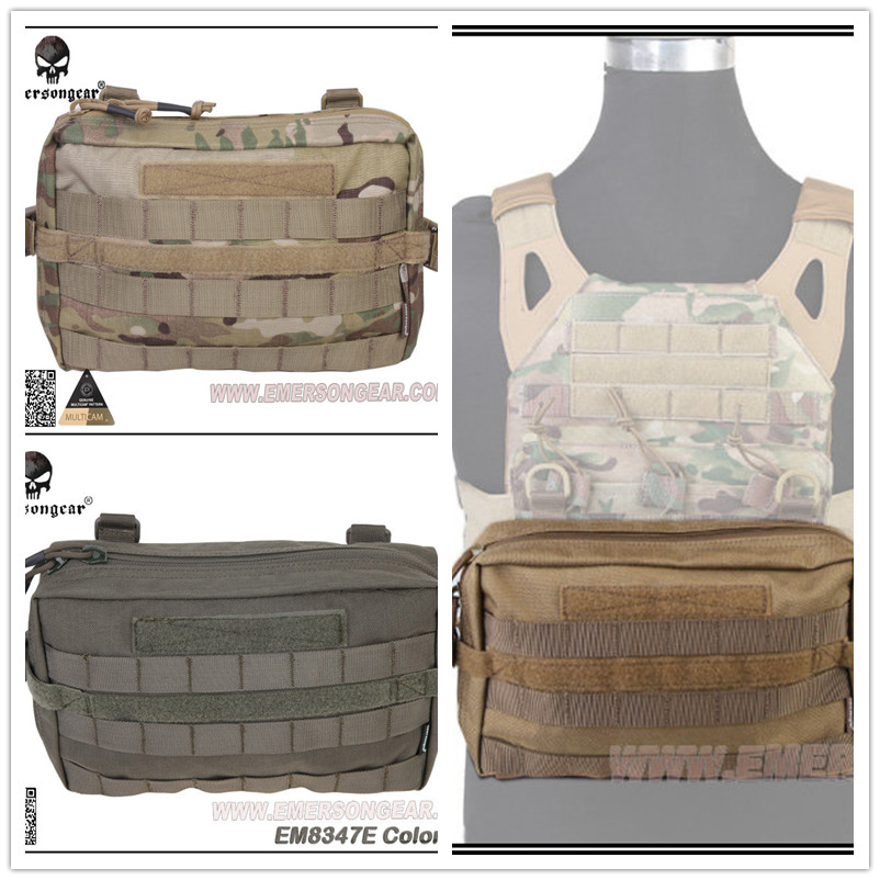 ФОТО EMERSON 1000D Molle Drop Leg Utility  Sports Pouch Bag Coyote Brown /MC/KH/AOR1/AOR2 /FG Tactical Sports Packs