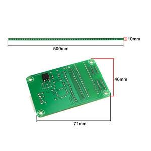 Image 4 - GHXAMP Dual 48 wskaźnik poziomu audio Light Bar LED spektrum muzyki miernik VU MP3 komputer dwukanałowy zielony 500MM * 10MM