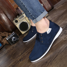 New 2018 Autumn Spring Men Shoes Casual Leisure Footwear Suede Leather