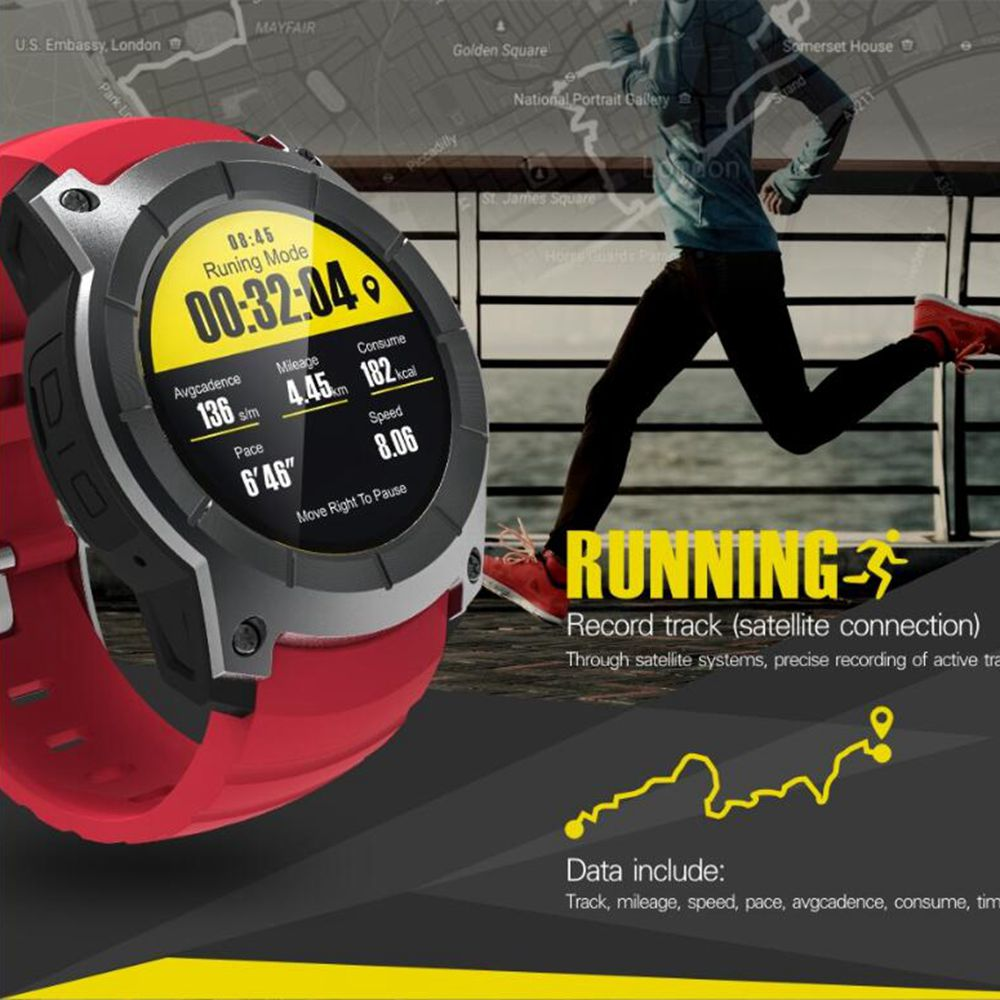 36fadc5ea GPS Smart Watch S958 Pedometer Fitness Tracker Heart Rate Monitor Smartwatch  Sports Waterproof Watch Support SIM TF Card For Man