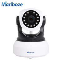 Marlboze Wireless 720P HD IP Camera P T Micro TF Card IR Cut Night Vision P2P