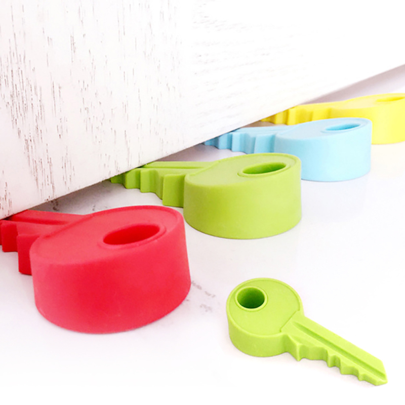 creative silicone y shape door block door stopper home decoration h key Children Gift Cute Lovely Candy Color 45 creative 100 euro note style door stopper guard green white