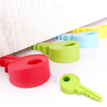 creative silicone y shape door block door stopper home decoration h key Children Gift Cute Lovely Candy Color 45