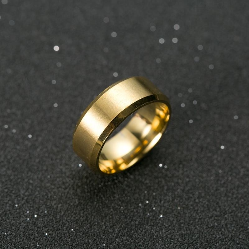 """Ring """"Men Style"""" Titanium Black 1"""