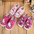 Sweet Hello Kitty Children Shoes For Girls Fashion Soft Soled Girls Kids Casual Sneakers Shoes Spring&Autumn Enfant Chaussure