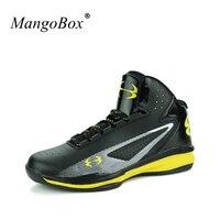 MangoBox Mens Basketball Sneakers Cheap Male Sport Shoes Yellow Blue Basketball Shoes For Man Hot Men