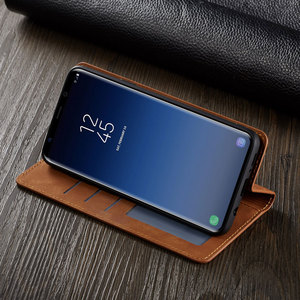 Image 4 - Flip Cover Wallet Luxury Leather Phone Case For Samsung Galaxy S9 Plus Card Stand GalaxyS9 S9Plus SM G960 G965 SM G965F SM G960F