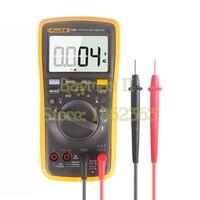 FLUKE 17B+ AC/DC Voltage,Current,Capacitance,Ohm Auto/Manual Range Digital multimeter with Temperature Measurement