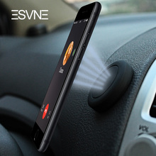 ESVNE Extra Slim Car Mobile Phone Holder Magnetic for Cell Stand Mount Universal