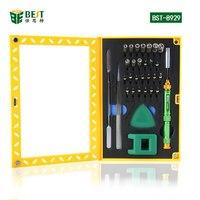 Бесплатная доставка BST 8929 отверток с помощью пинцета Отвертки Прая инструменты многофункциональный телефон Ремкомплект