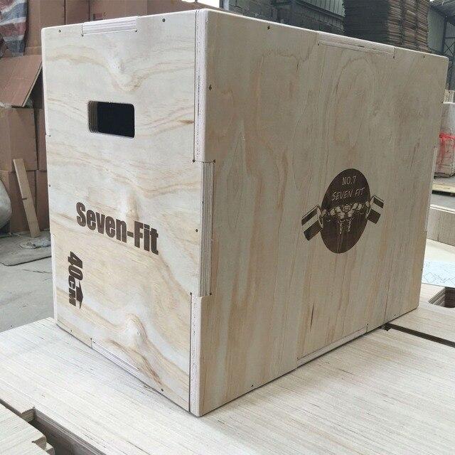 Wood Plyo Box 16/14/12 3 in 1 Plyometric Box, Plyometric Jump Box