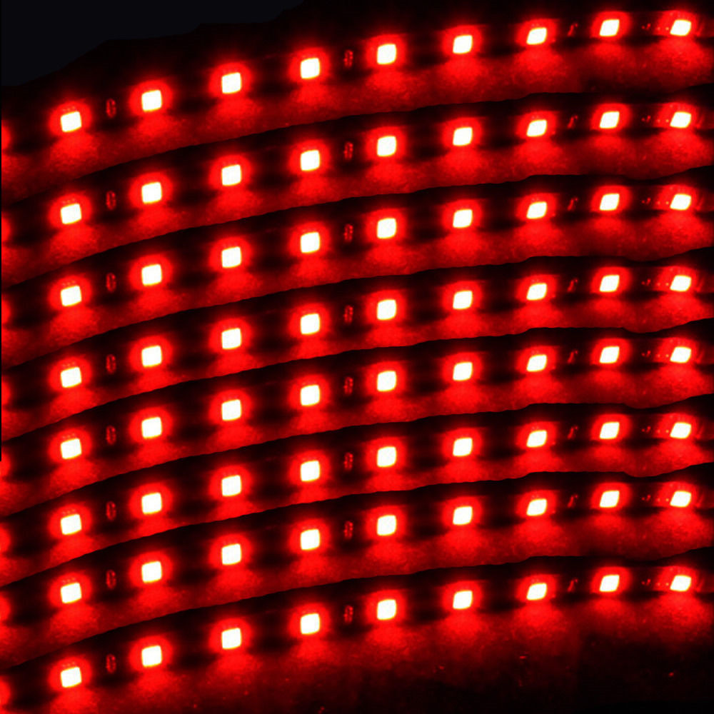EE suporte 8 Pcs 15 LED 12 V 30 CM Luzes Grill Flexível À Prova D - Faróis do carro - Foto 5