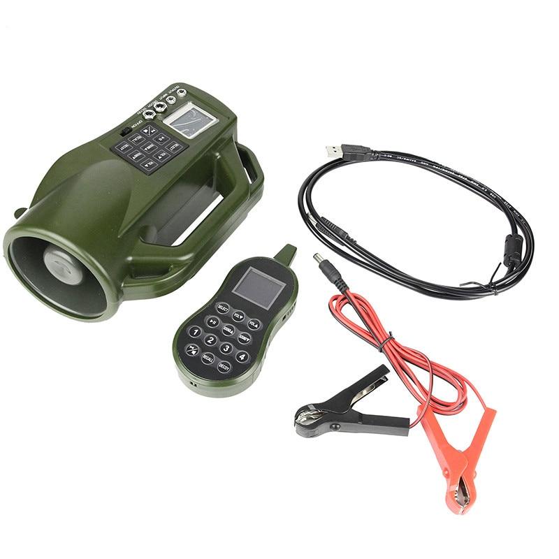 Новый пульт дистанционного управления птица Абонент Открытый Охота манок птица Звук MP3-плеер громкоговоритель 10Вт оборудование с дистанционным