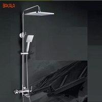 Бакала модные ванны и душа Смесители ванная комната латунь набор для душа дизайн ванной тропический душ R8133