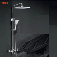 BAKALA Fashion bath shower faucets bathroom brass set shower Design bathroom rain shower R8133