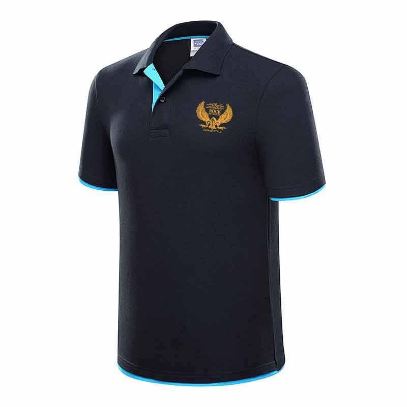 2018 Summer Air Force One Printed   Polo   Shirt Aeronautica Militare Cotton   Polos   Top Quality Lapel Mens Printed   Polo   Shirt