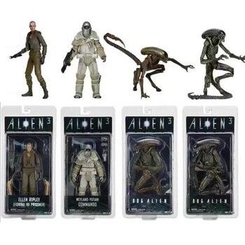 Người ngoài hành tinh 3 Series 8 Weyland Yutani Commando Dog Alien Ellen Ripley Fiorina 161 Tù Nhân Action Figures Aliens vs Predator Đồ Chơi