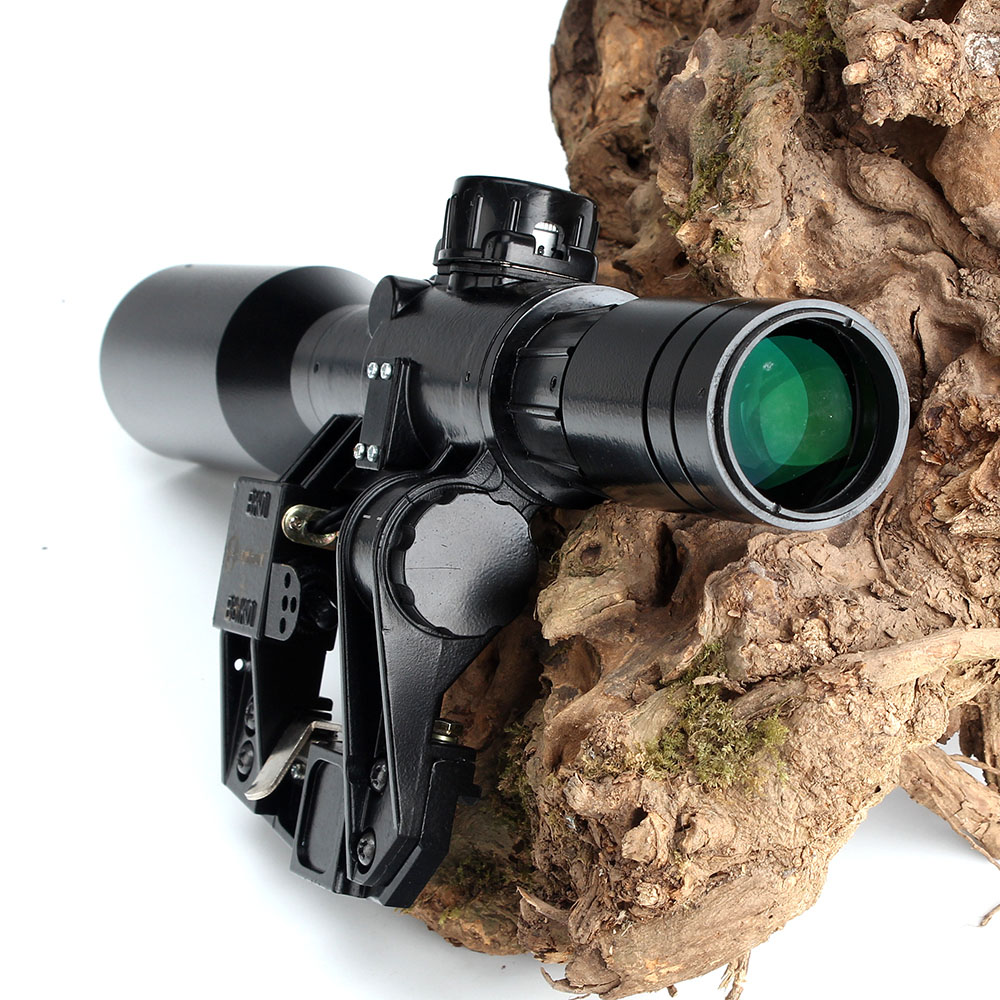 Image 4 - Hunting SVD 6X42D Riflescope Red Illuminated Glass Etched Reticle POS 1 Sight Tactical Scopees Mount Fits SKS Tigr Romak 3-in Riflescopes from Sports & Entertainment