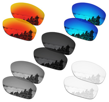 SmartVLT 5 Pairs Polarized Sunglasses Replacement Lenses for Oakley She's Unstoppable - 5 Colors