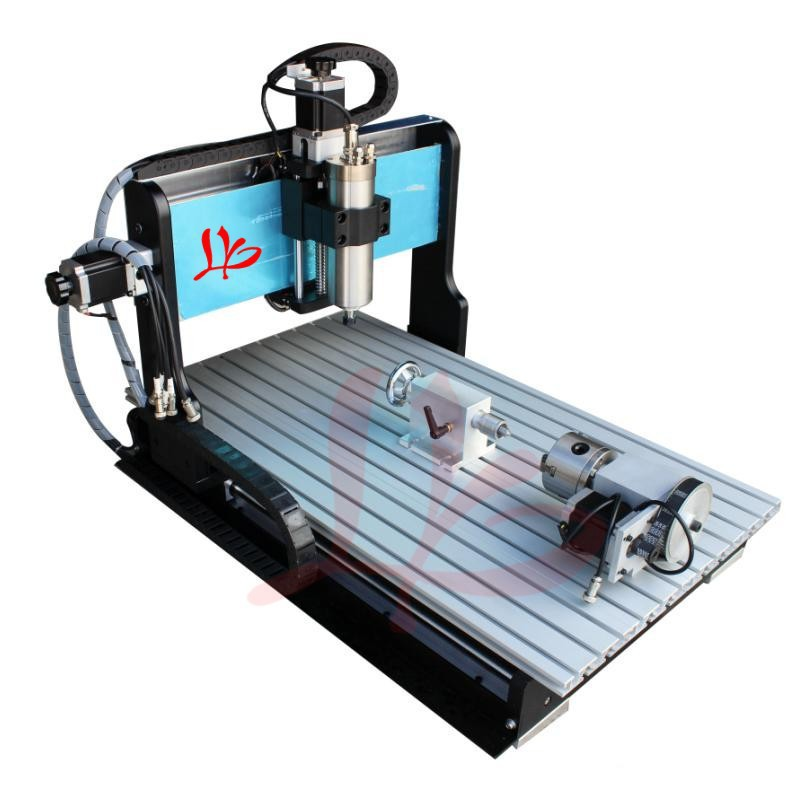 Factory sale! Newest 4 axis cnc router engraver machine 3040 Z-USB 800W water cooling,cnc metal milling machine for woodworking  цены