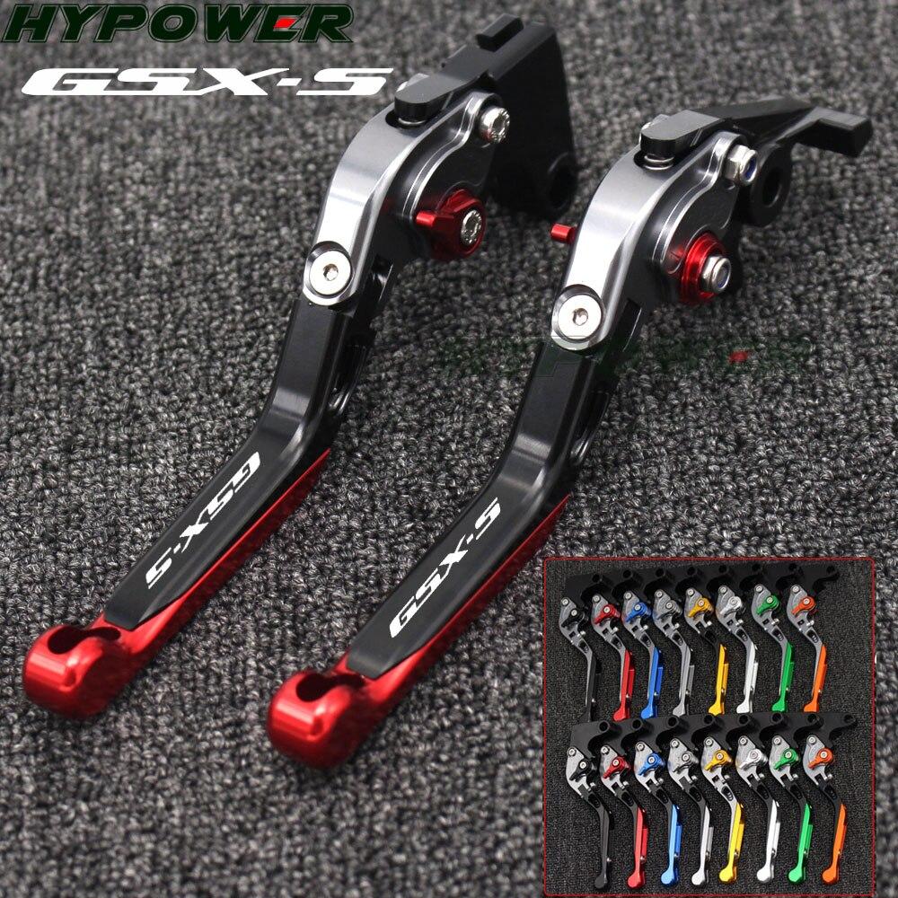 Folding Extendable Motorcycle Brake Clutch Levers For SUZUKI For SUZUKI GSX S 1000 GSX S 1000F 2015 2016