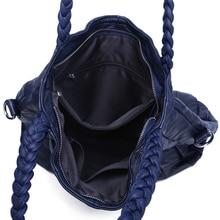 ESUFEIR 100% Genuine Leather Women Handbag Real Sheepskin Leather Patchwork Crossbody Bag Shoulder Bags For Women Casual Tote