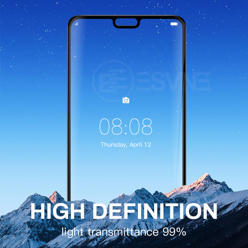 9D Full Cover Tempered Glass For Huawei mate 10 20 P20 Lite Pro p smart Plus glass For Huawei honor 7a 9 10 Screen Protector in Phone Screen Protectors from Cellphones Telecommunications