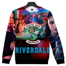 3D America Hot TV Riverdale Women/Men Capless Pullover Hoodies Couple Unisex Boys Girls Sweatshirt Hip Hop Tops Clothes Plus 4XL