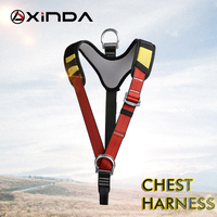 Xinda Body Rock Climbing Harness Chest Safety Support Belt for Mountaineering Rappelling Outdoor Tree Work Climbing