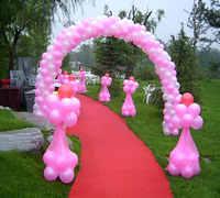 3x4 m Coluna Stand Balões De Casamento Balão Arco Estande Base de Moldura Acessórios Fontes Do Partido de Casamento Decoração de Balões De Aniversário