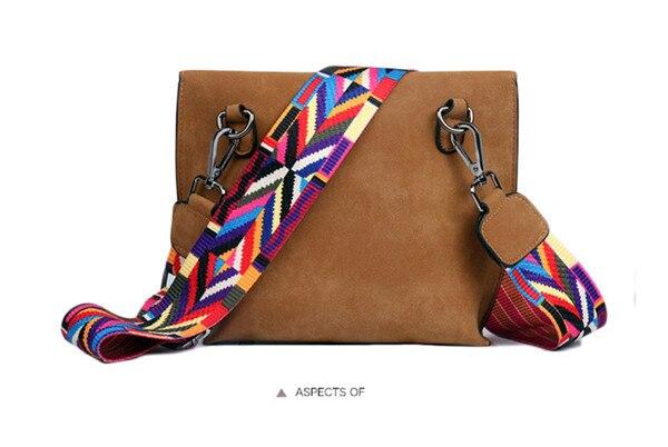 Women's Bag Scrub PU Crossbody Bags Luxury Handbags Women Bags 24