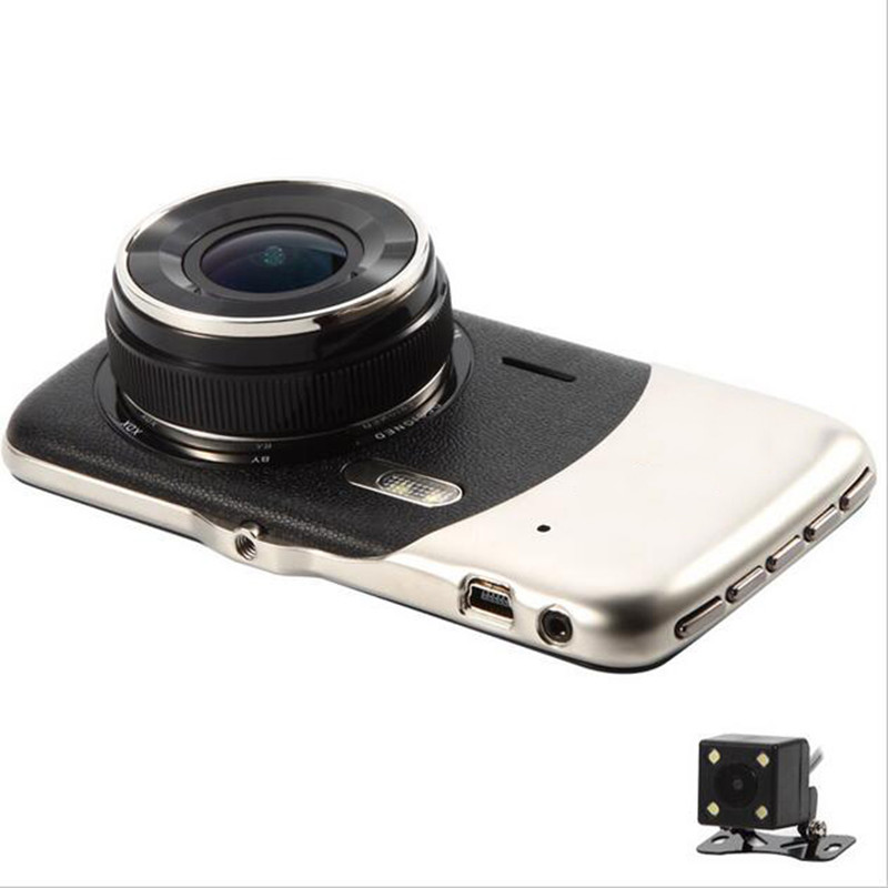 2018 Original 4,0 zoll IPS Bildschirm Auto DVRs Novatek NTK96658 Auto Kamera Dash Kamera Volle HD 1080 p cam Video recorder Dash Cam
