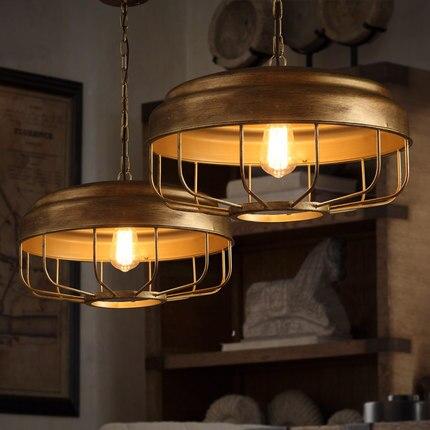 Loft Pendant Lamp Metal Industrial Style Pendant Lighting Creative Bar Suspension Luminaire Coffee Shop Art Deco Lighting