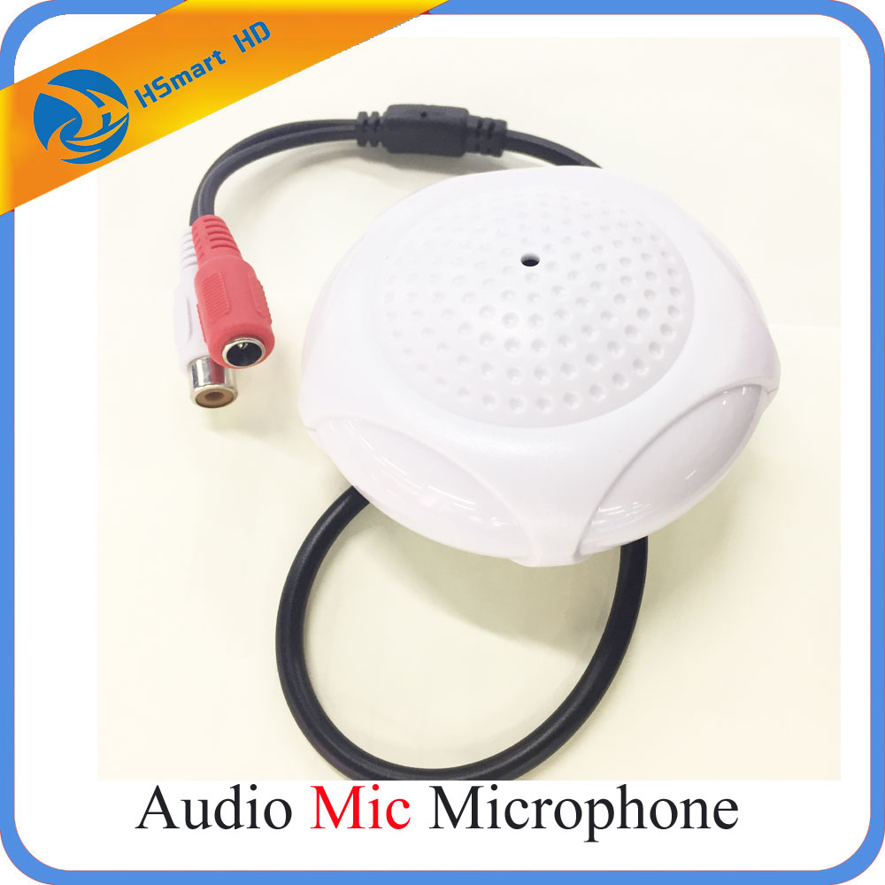 New Mic Audio Microphone for CCTV Security DVR Camera стоимость