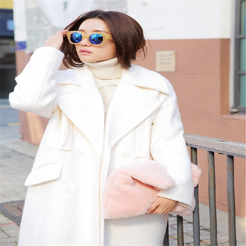 New Arrival Fashion Faux Fur Clutch Bag Casual Handbag Fur Velour ... daa7440211a09