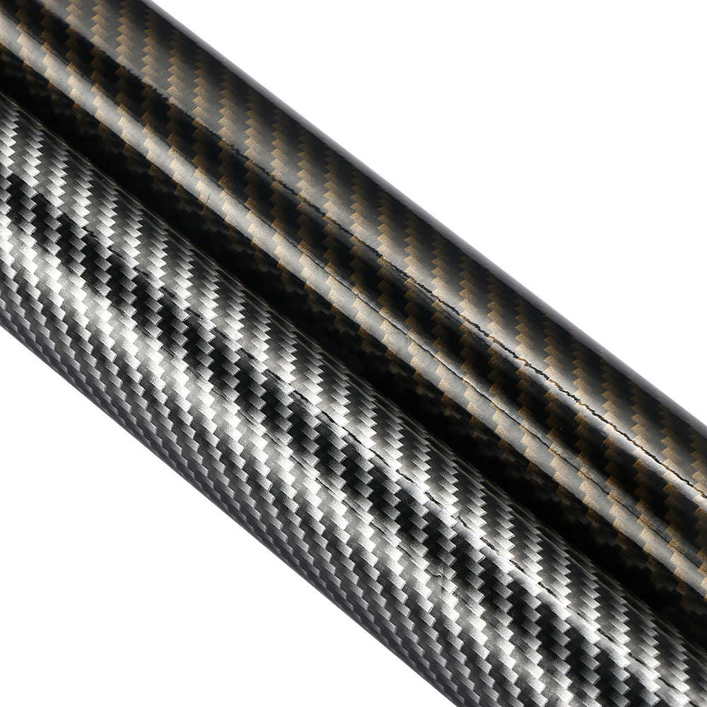 30cmx100cm high glossy 2d carbon fiber vinyl wrap film diy auto car motorcycle decorative wrapping sticker