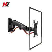 "Top Vendendo F120 NB 17-27 ""Mola A Gás Full Motion TV Wall Mount LCD LED Monitor de Suporte De Alumínio Suporte do braço"