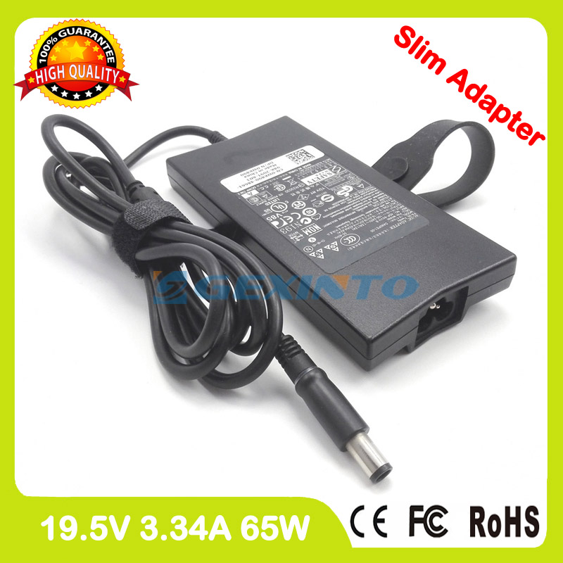 AC power adapter 19 5V 3 34A 65W laptop charger for Dell Latitude 14 3440  3450 3460 3470 3480 3488 5480 5488 7440 7450 7480 7490