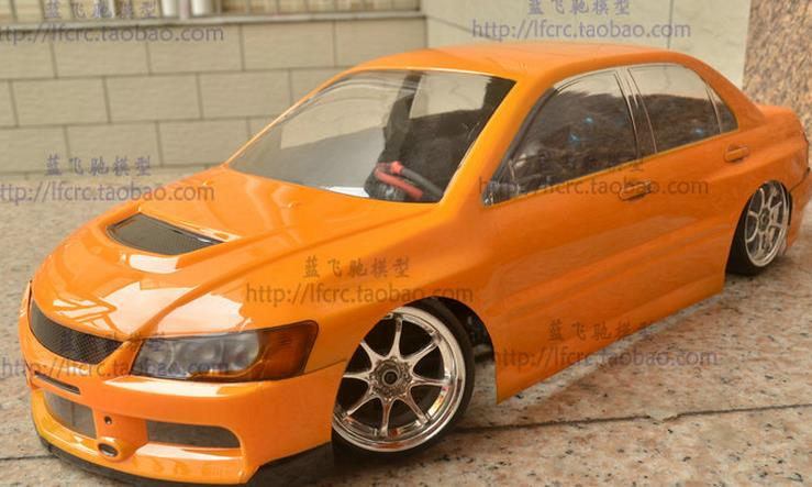Aliexpress Com Buy Rc Car Body Clear Shell Mmitsubishi Evo