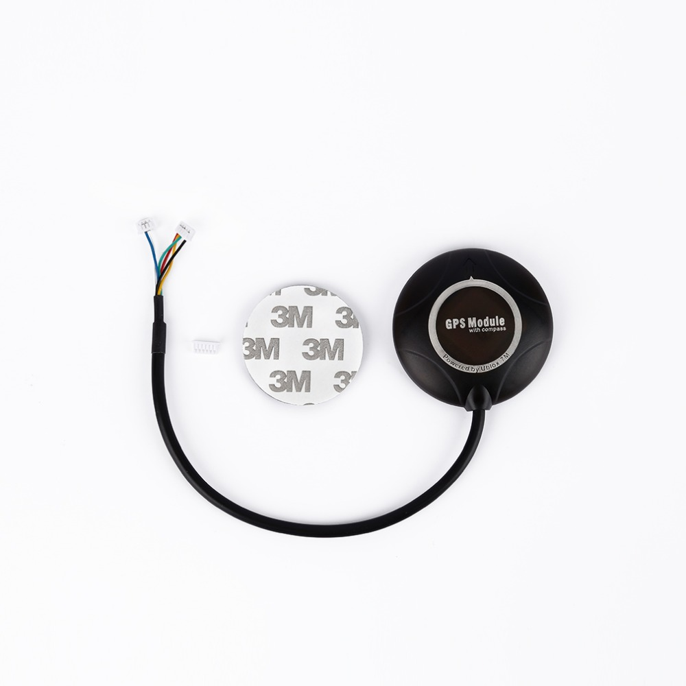 Ublox NEO-7M NEO 7M GPS module Built-in Compass For APM 2.8 APM2.6 PIX flight controller board For RC Quadcopter Better than 6M ublox crius neo 6 v3 1 gps module apm flight control board pixhawk mwc flight controller neo 6m