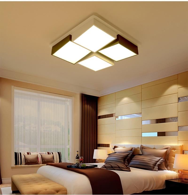 Creative Square Ceiling Lamp Flush Mount Ceiling Light