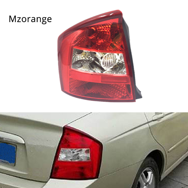 MIZIAUTO tail lights for kIA Cerato 2003-2007 taillight rear light tail lamp assembly Tail Brake Stop Light