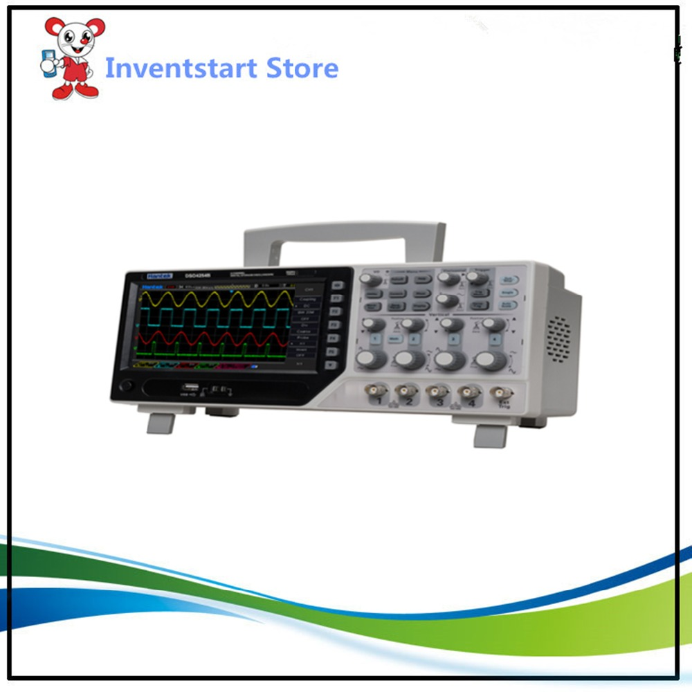 Hantek DSO4254B Digital Oscilloscopes USB 250MHz 4 Channels PC Handheld Portable Osciloscopio Portatil Diagnostic-tool