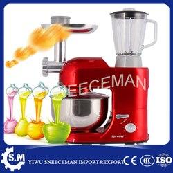 automatic Versatile dough mixer noodles making machine fruit juicer meat grinder mincing machine