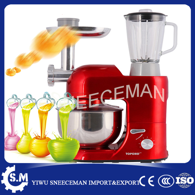 automatic Versatile dough mixer noodles making machine fruit juicer meat grinder mincing machine