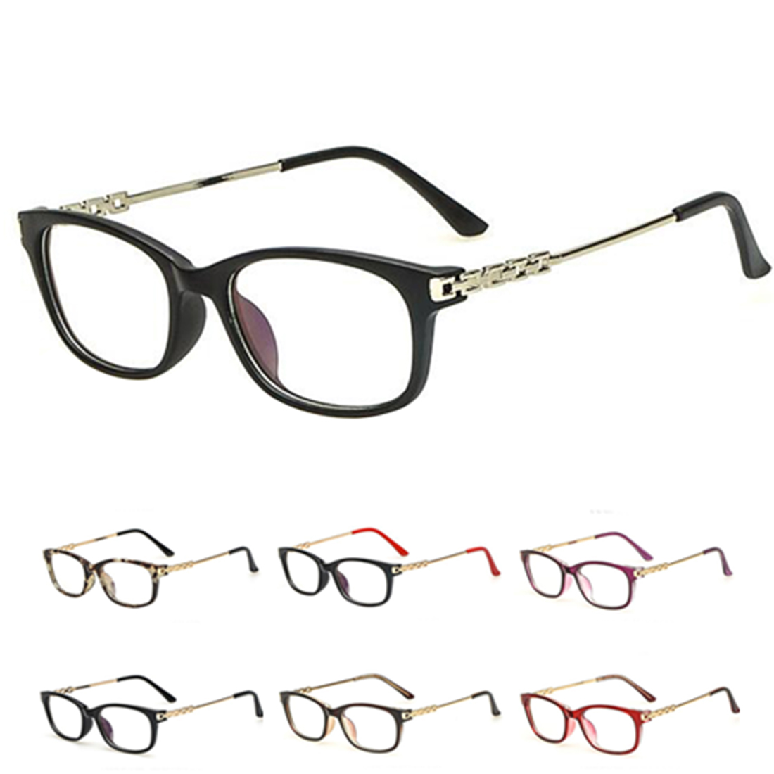 Metal Eyeglasses Frame Fashion Designed Men Women Fashion ...